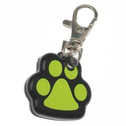 Pet LED Light Up Glowing Dog Tag Useful Footprint Shape Pet