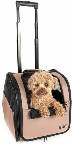 Pet Life Wheeled Airline Approved Travel Pet Carrier NEW IN