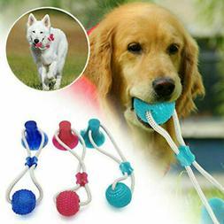 Pet Molar Biting Ball Toy Dog Tug Of War Chewing Ball