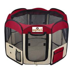 Pet Playpen Foldable Portable Dog/Cat/Puppy Kennel for Small