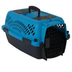 "Aspen Pet Pet Porter Fashion Dog Kennel, Blue, 19""L"