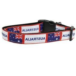Mirage Pet Products Australia Nylon Dog Collar Buckle Metal