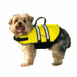 Pawz Pet Products Nylon or Neoprene Dog Life Jacket in 4 Sty