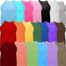 Mirage Pet Products - Plain Color Dog/Cat Shirt Sizes XS-3X
