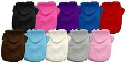 Mirage Pet Products - Plain Dog Hoodies Sizes XS-3X