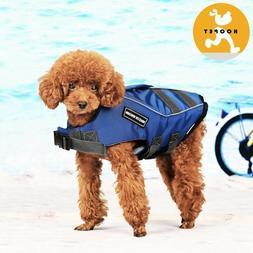 pet safety vest dog life jacket preserver