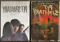 Pet Sematary 1 & 2 DVD Double Feature Pack BRAND NEW