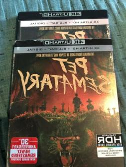 Pet Sematary 4K & Blu-ray Only Opened For Digital Code