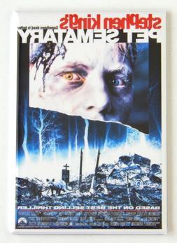 Pet Sematary FRIDGE MAGNET movie poster cemetery