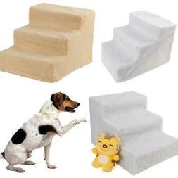 Pet Stairs 3 Step Dog Ladder Ramp Steps Stair Small Dogs Cat