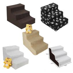 Pet Stairs 3 Step  Dog Ladder Indoor Small Ramp Steps Stair
