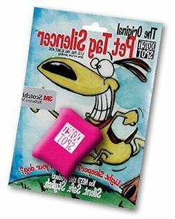 pet tag silencer pink