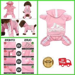 Pet Tracksuit Clothes for Dog Cat Puppy Hoodies Outfits many