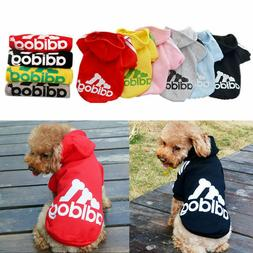 Pet Winter Coat Dog Soft Warm Clothing Casual Cat Puppy Hood