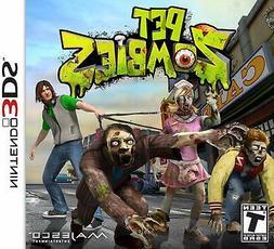 Pet Zombies Nintendo 3DS