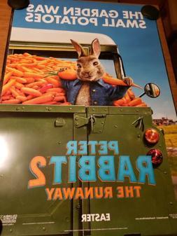 Peter Rabbit 2 Advance A  Original Movie Poster DS 27x40 Jam