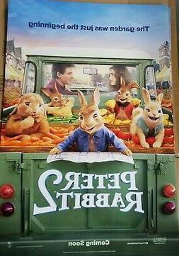 Peter Rabbit 2 Advance B  Advance Original Movie Poster Doub