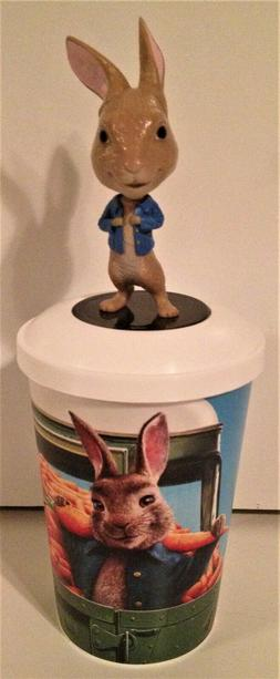 Peter Rabbit 2 Movie Theater Exclusive Bobblehead Cup Topper