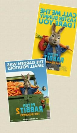 Peter Rabbit 2: Runaway  D/S Orig Movie Posters 2-Sided 27x4