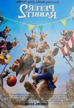 Peter Rabbit 2 Runaway Intl B   Movie Poster Double Sided 27