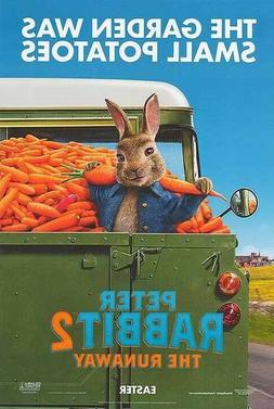 Peter Rabbit 2 The Runaway 11.5x17 Promo Movie POSTER