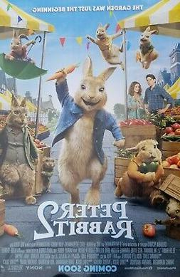 Peter Rabbit 2 The Runaway  Intl Movie Poster Double Sided 2