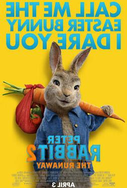 Peter Rabbit 2 The Runaway  Reg Movie Poster Double Sided 27