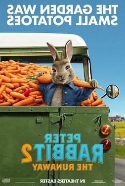 Peter Rabbit 2 The Runaway  - original DS movie poster 27x40