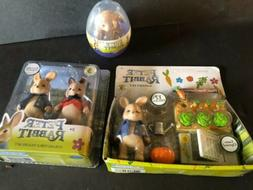 "PETER RABBIT The Movie GARDEN SET 3"" & Figure Set"