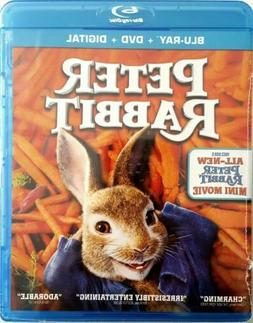 PETER RABBIT with ALL NEW MINI MOVIE * BLU-RAY + DVD + DIGIT