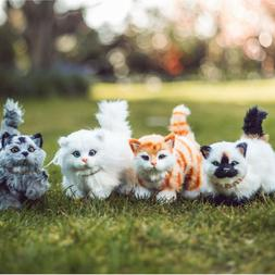 Pets 18 Inch Dolls, Set of 4 Kitty Cat Pets, Compatible with