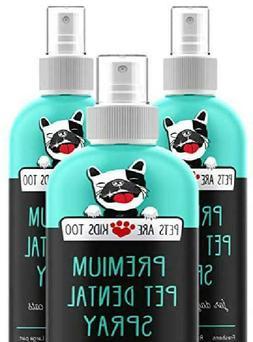 Pets Are Kids Too Premium Pet Dental Spray : Eliminate Bad D
