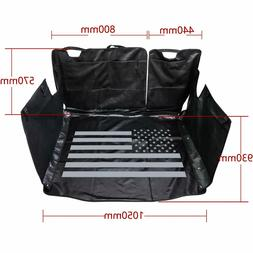 Pets Dog Car Seat Covers Trunk Mat US Flag for Jeep Wrangler