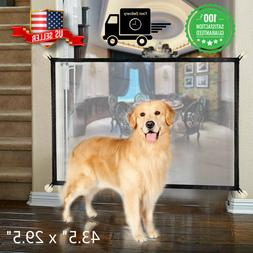pets dog cat baby safety gate mesh