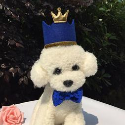 Pets Dogs Cats Birthday Party Cap Princess Crown Hat Puppy K