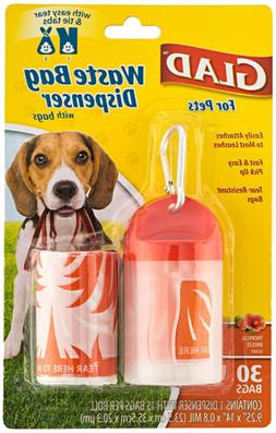 Pets Extra Large Dog Waste Bags and Poop Bags Dispenser High