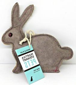 Martha Stewart Pets Gentle Play Dog Toy Rabbit New with Tags