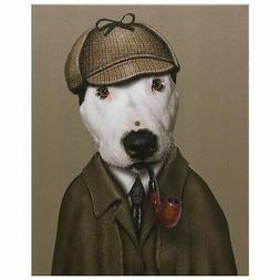 "Pets Rock ""Detective"" Graphic Art on Wrapped Canvas Wall Art"