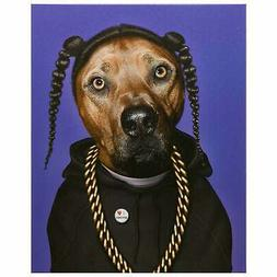 Empire Art Pets Rock 'Rap' High Resolution Giclee Printed on