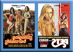 PETS / SWINGING BARMAIDS:  2 DVD PACK!  4 GRINDHOUSE MOVIES!