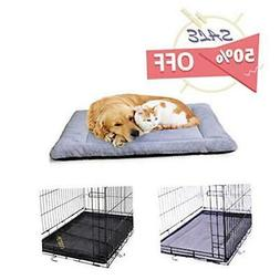 PETSGO Super Soft Crate Mats(1 in High Dog & Cat Beds for Cr