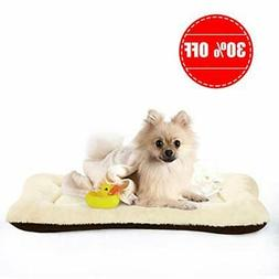 PETSGO Super Soft Crate Mats(1 in High Dog & Cat Beds for 42
