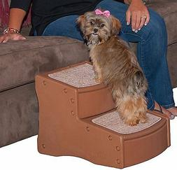 Pet Gear Pg Easy Step I Pet Stair 2 Step Light Cocoa 18 x 14