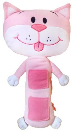 Seat Pets Pink Cat Car Seat Toy