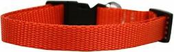 Mirage Pet Products Plain Nylon Cat Safety Collar, Standard,