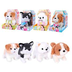 Plush Puppy Dog Interactive Kids Electronic Pet Toy Robotic