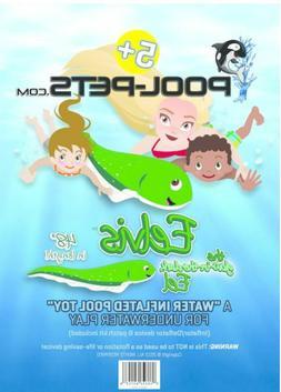 Pool-Pets Pet Eelvis Eel Float Submersible Torpedo Play unde