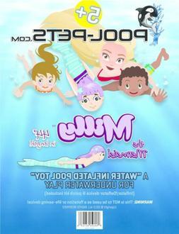 Pool-Pets Pet Milly Mermaid Float Submersible Torpedo Play u