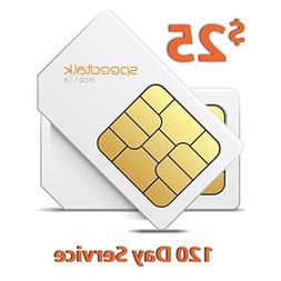 $25 Prepaid Sim Card for GSM GPS Tracker Locators Smart Watc