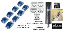 Andis PRO 2-Speed Clipper KIT&5 ULTRAEDGE BLADES&GUIDE COMB